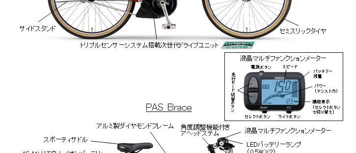 PAS VIENTA5 PAS Brace 2018年モデル発売